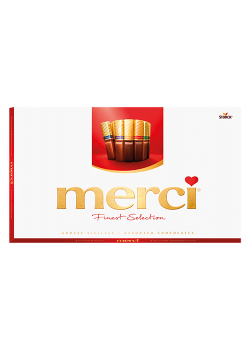 MERCI FINEST SELECTION 400g NATALE 2019