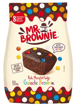 BROWNIE CON SMARTIES 200G