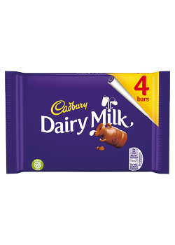 DAIRY MILK 4BARS 144G