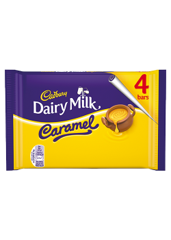 DAIRY MILK CARAMEL 4BARS 148G